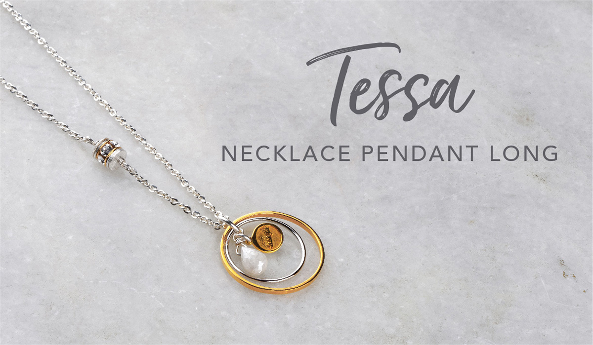 Tessa Necklace Pendant Long