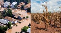 Colorado flood, Texas drought