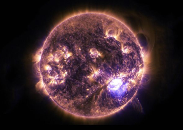 An image of the Sun from NASA