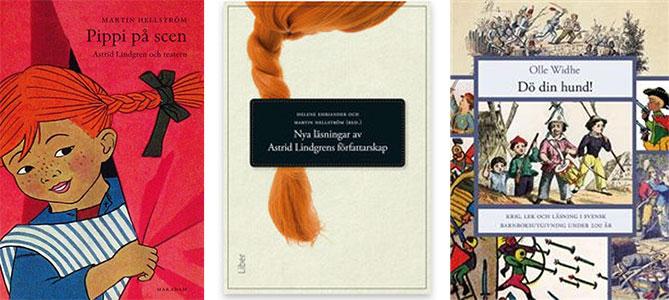 omslag till böcker i sbi:s skriftserie