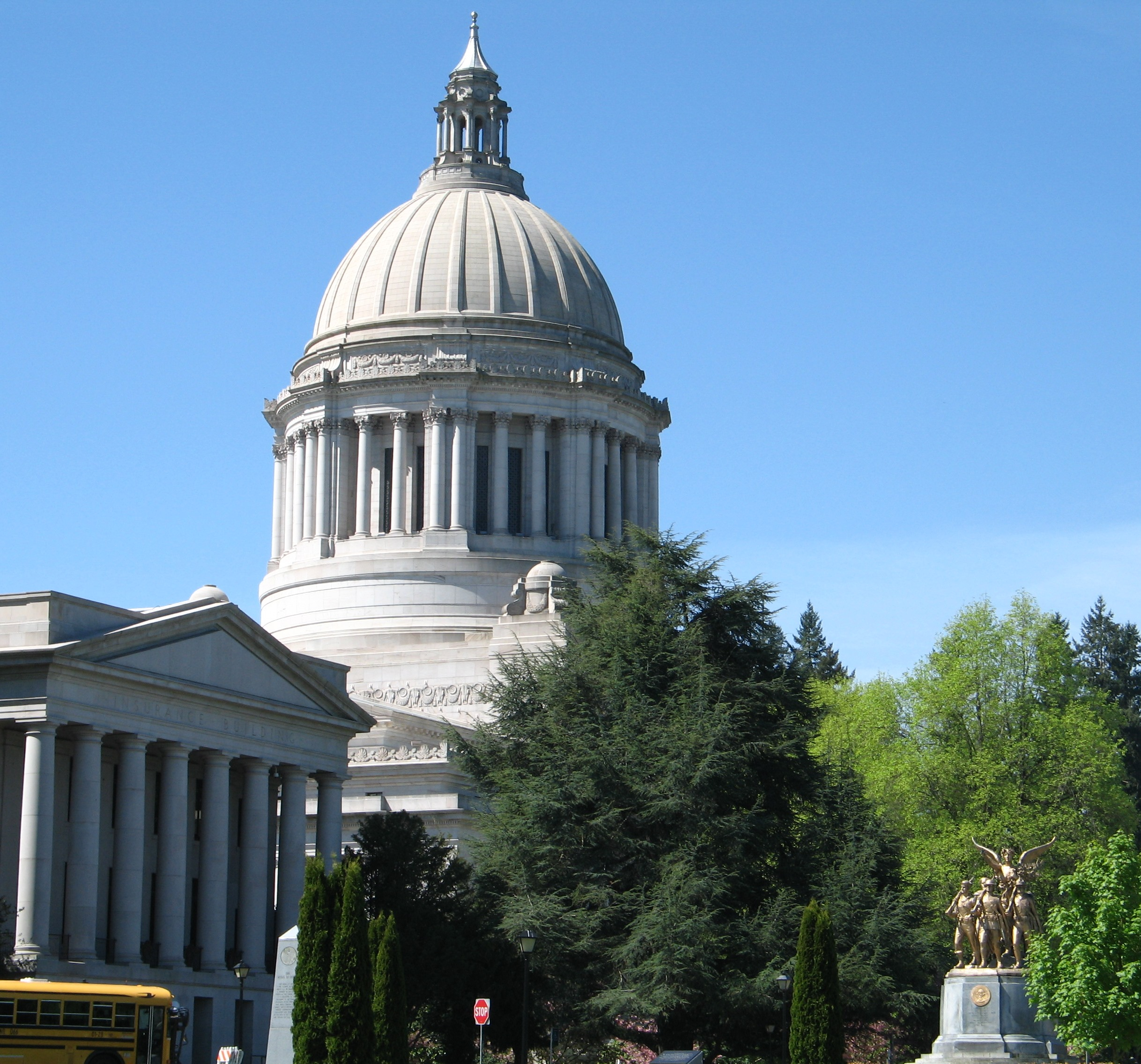 Capital Dome in Olympia