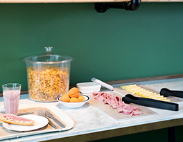 Buffet solution serving platter breakfast Roltex