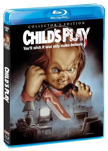 Limited Edition Child's Play Blu-Ray