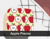 Apple Pieces Transfer Sheet