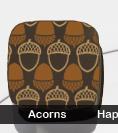 Acorns Transfer Sheet