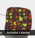 Autumn Leaves Transfer Sheet