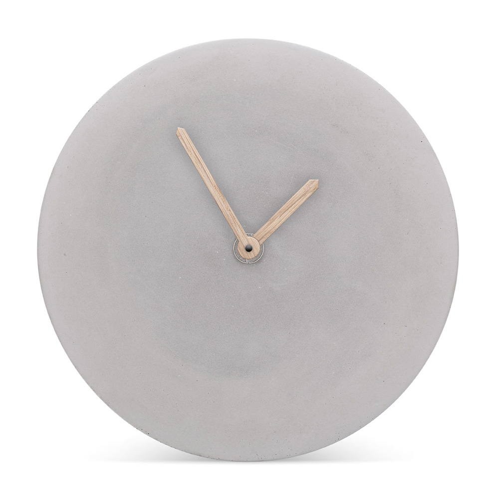 MenschMade Concrete Wall Clock