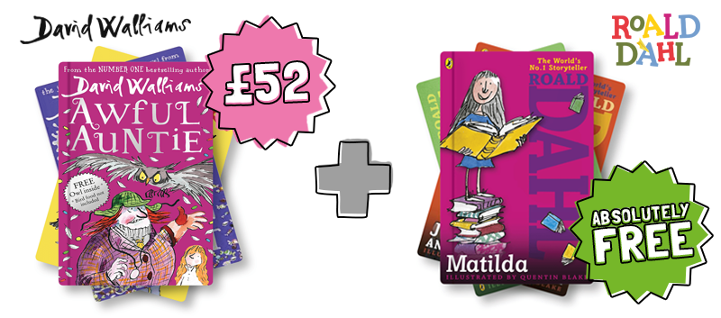 buy David Walliams books and get Roald Dahl books free