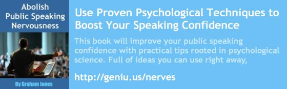 Public Speaking Book Advert