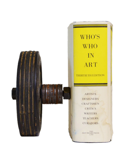 book with wheel