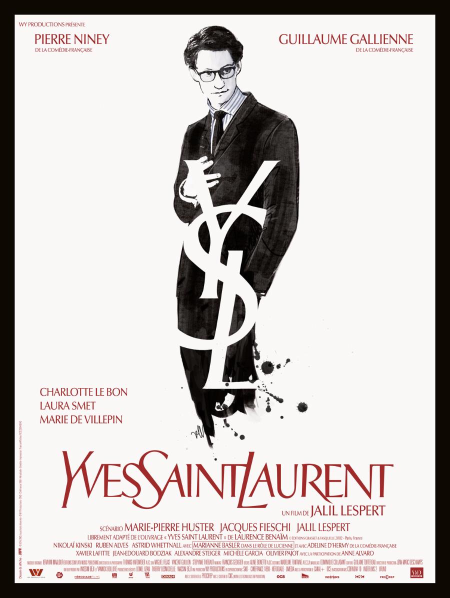 YSL film poster