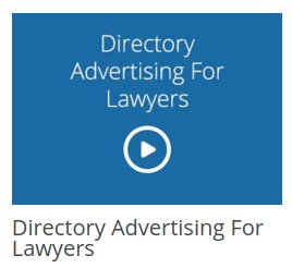 Directory Advertising for Lawyers