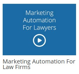 Marketing Automation for Law Fimrs