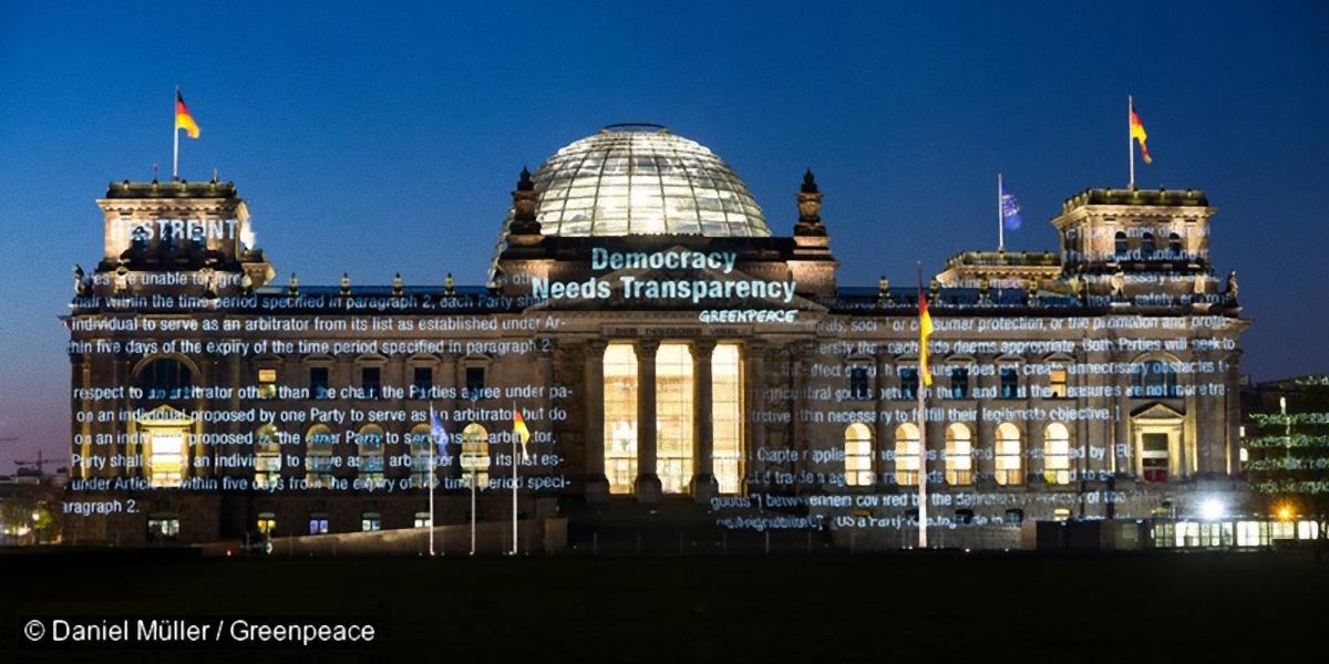 TTIP Leaks Reichstag
