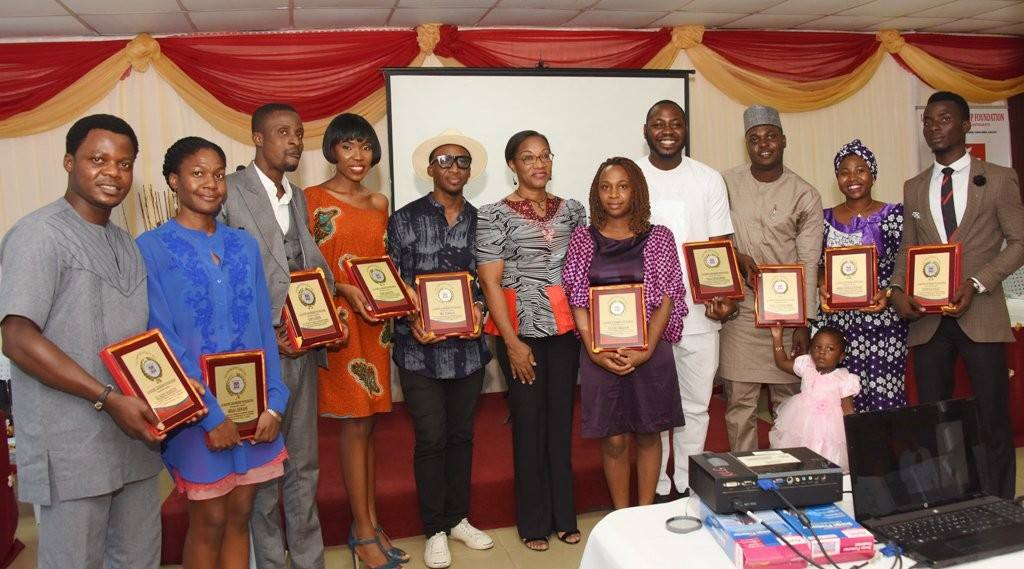 Ufuoma collects Award