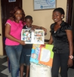We took gifts to all the boys from the pilot programme
