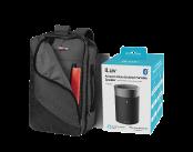 OGIO convert pack and iLuv Alexa speaker