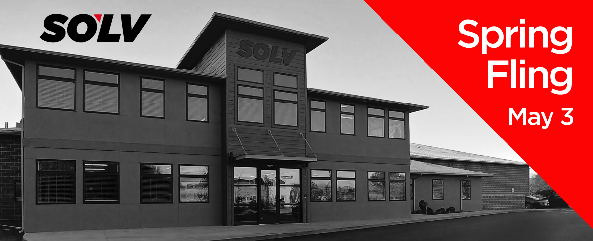 SOLV building, Spring Fling, May 3