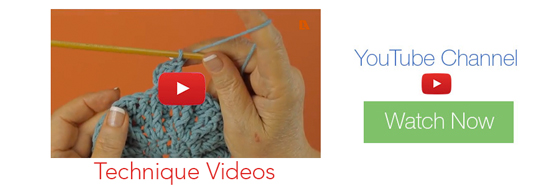 Leisure Arts on YouTube presents Crochet Techniques Videos