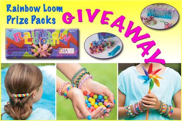 Rainbow Loom Prize Packs Giveaway