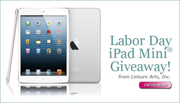 Labor Day iPad Mini® Giveaway!