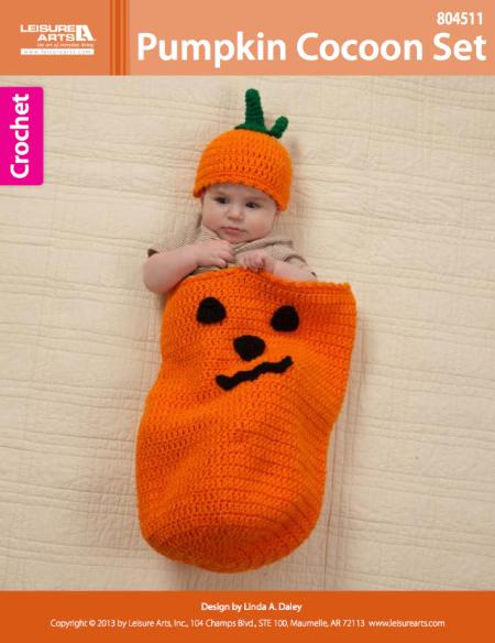 Pumpkin Cocoon Crochet ePattern