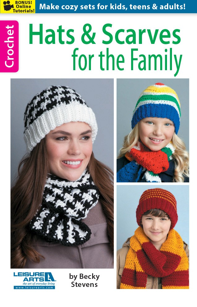 Hats and Scarves for the Family Crochet Patterns