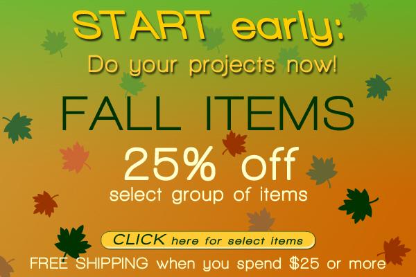 Fall items Sale!