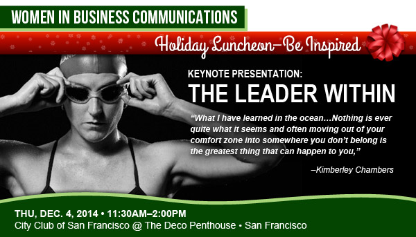 VMA Women in Business Communications Holiday Luncheon with Kimberley Chambers