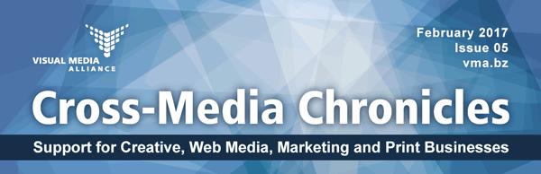 Cross-Media Chronicles Newsletter Masthead Image Issue 5
