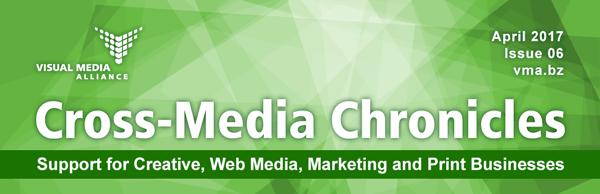 VMA Cross-Media Chronicles - Issue 6 - Newsletter Masthead Image