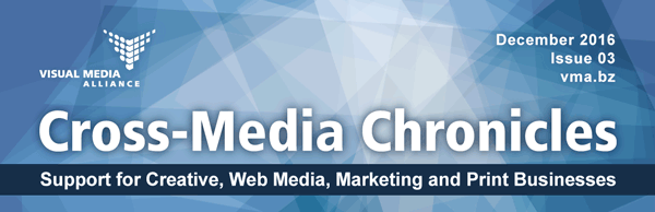 Cross-Media Chronicles Newsletter Masthead Image Issue 3