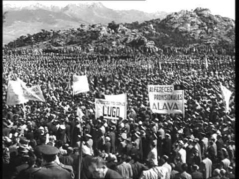 Inauguración del Valle de los Caídos
