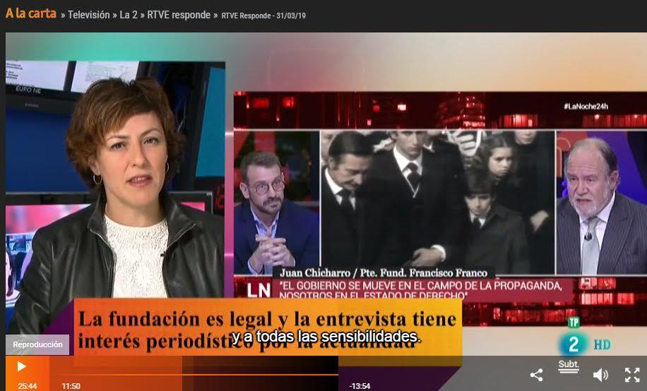 RTVE - Defensor