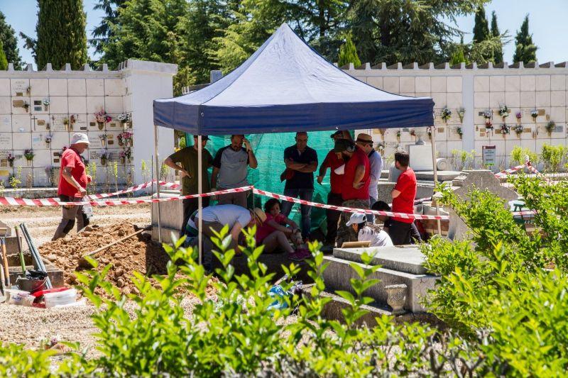 Exhumación León