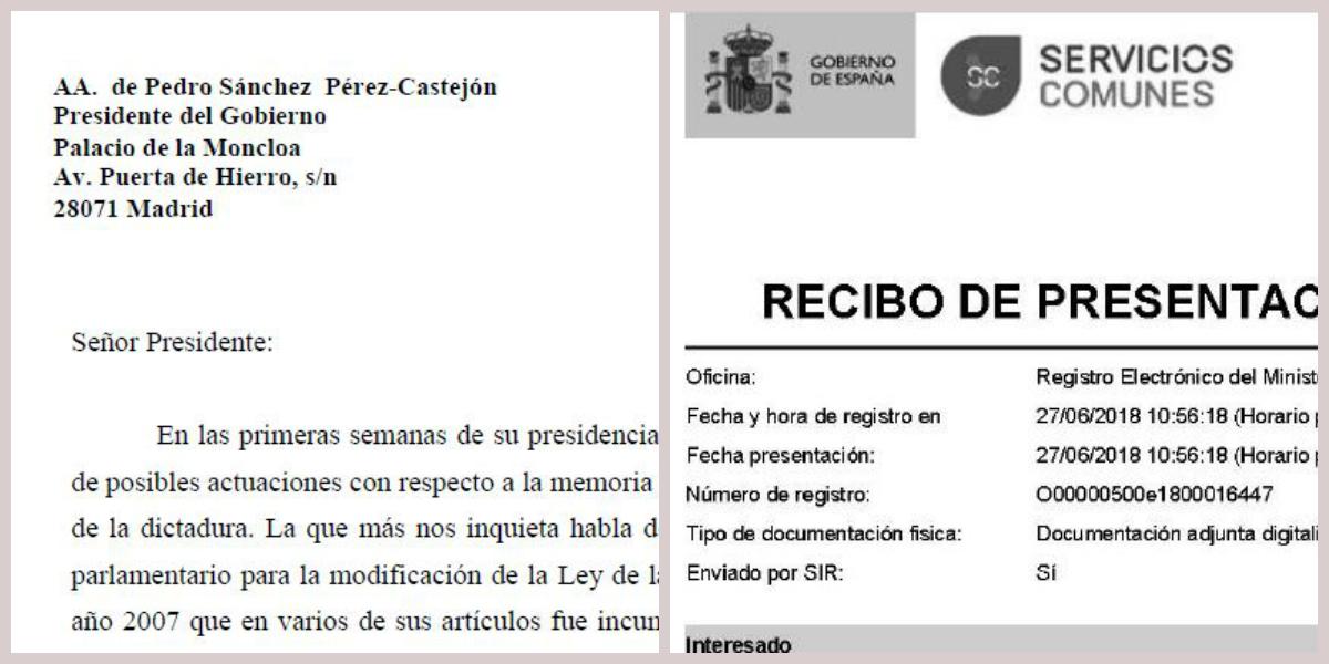Documento Pedro Sánchez