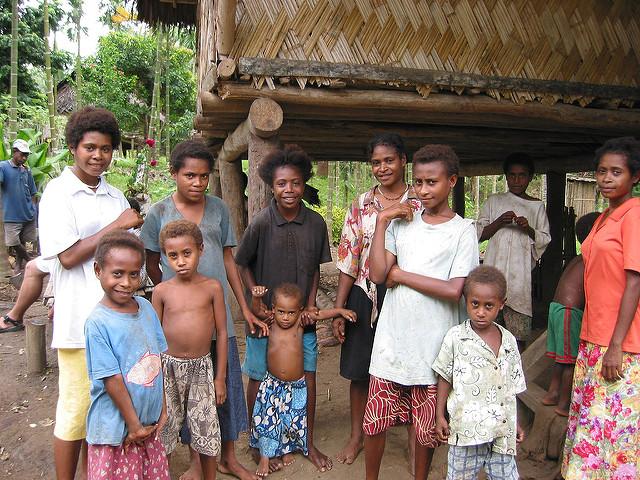 Papua New Guinean friends