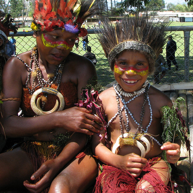Children at the 2009 Goroka Show
