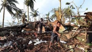 Hurricane Pam Hit Vanuatu