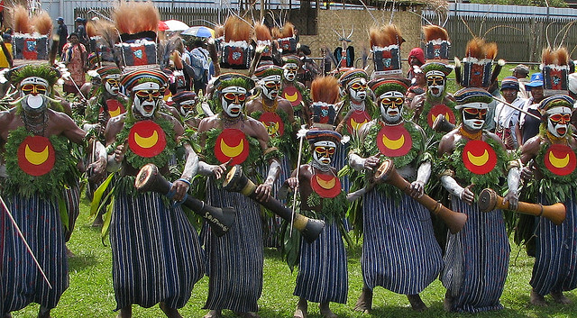Polga Life dancers from the Western Highlands Province