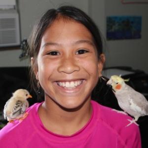 Rachel likes birds.