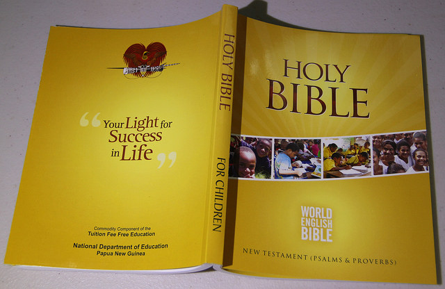 PNG School Bibles