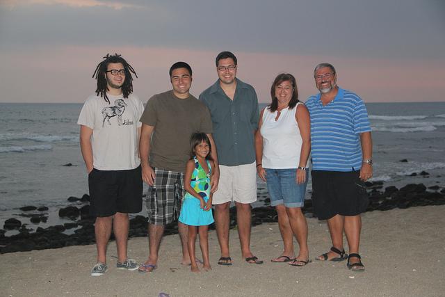 Johnson family photo