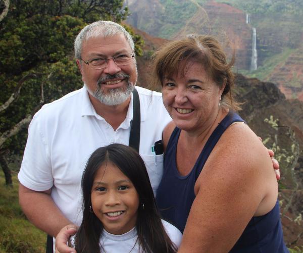 Michael, Lori, and Rachel