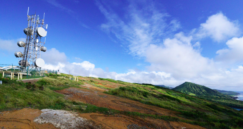 Photo of Koko Head radio site