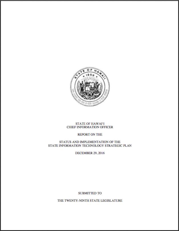 2016 CIO Annual Report