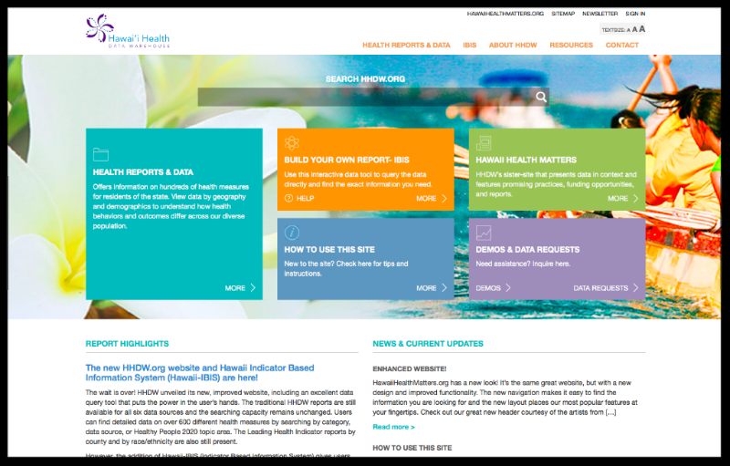 HHDW website