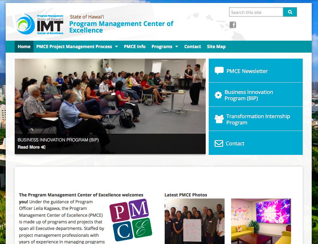 PMCE website