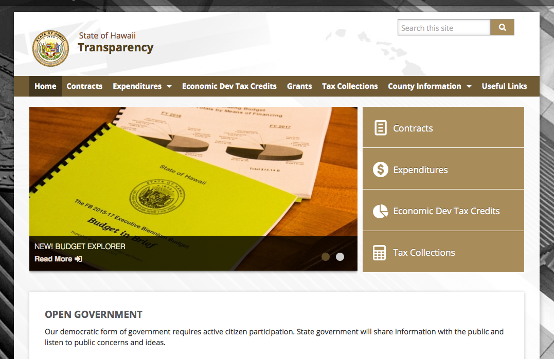 transparency.hawaii.gov
