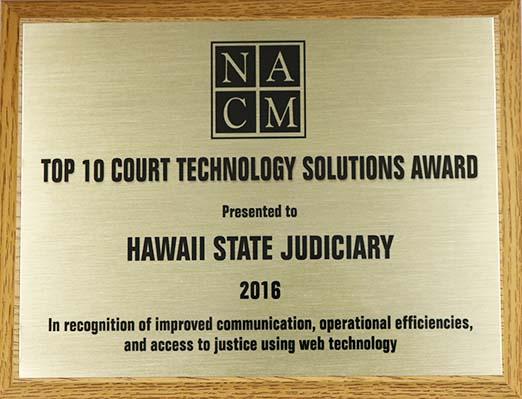 NACM award
